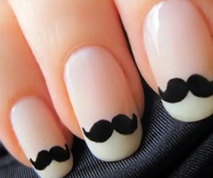 adorable, moustache, and cute image