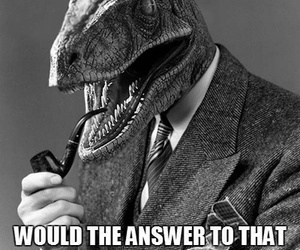 pipe, question, and raptor image