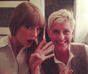 Taylor Swift, ellen, and red image