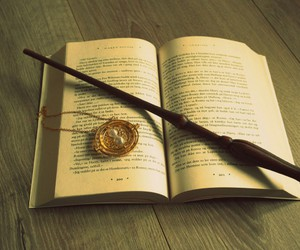 book, harry potter, and magic image
