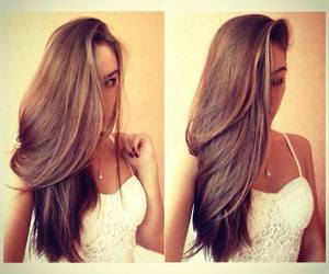 hair, beautiful, and long hair image