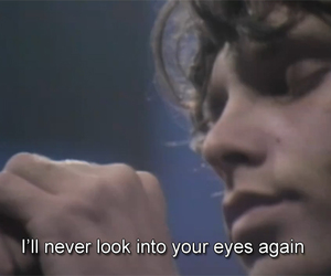 60s, eyes, and Jim Morrison image