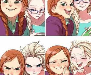 anna, princess, and disney image