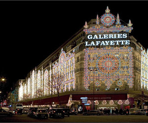 light, paris, and luxery image