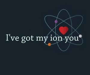 atom, boy, and chemistry image