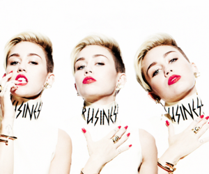 miley, miley cyrus, and red image