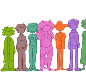trolls, homestuck, and vriska serket image