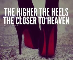 heels, heaven, and high heels image