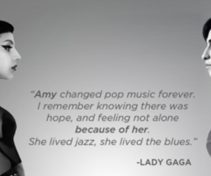amy whinehouse and Lady gaga image