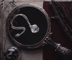 mirror, crystal, and magic image