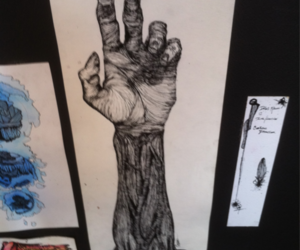 arm, draw, and hand image