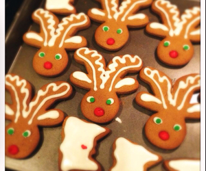 christmas, gingerbread, and cute image