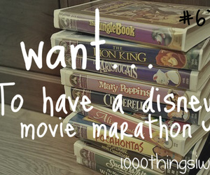 disney and 1000 things i want image
