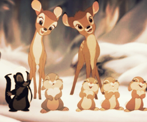 disney, bambi, and cute image