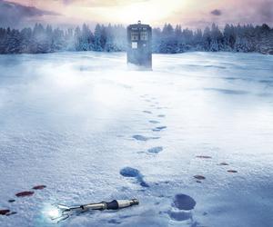 doctor who, christmas, and matt smith image