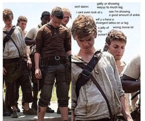 newt, funny, and will poulter image