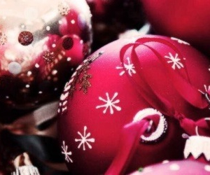 christmas, pretty, and ornament image