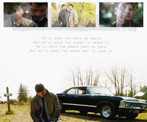 angel, dean winchester, and supernatural image
