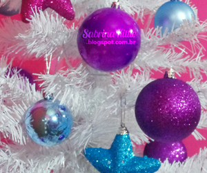 blue, sparkly, and christmas image