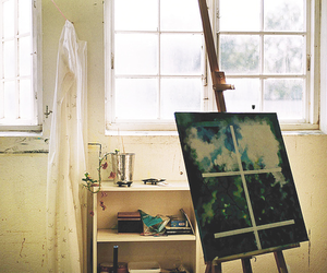 canvas, paint, and painting image
