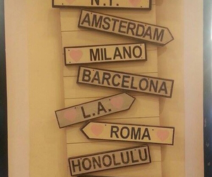 amsterdam, Barcelona, and city image
