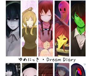 game, horror, and yume nikki image