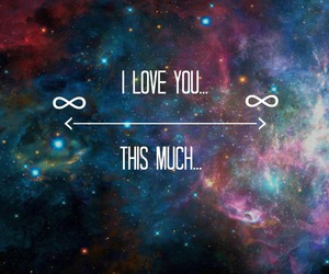 forever, infinity, and love quotes image