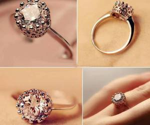 ring, diamond, and fashion image