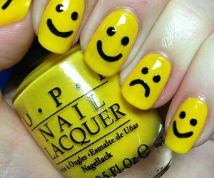 nails, nail art, and art image