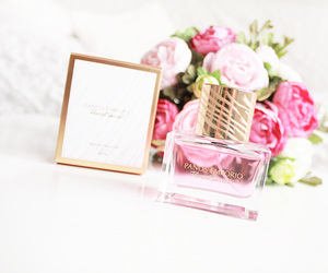 perfume, flowers, and girly image