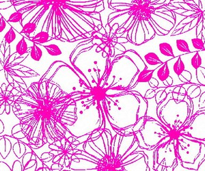 background, flowers, and patterns image