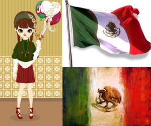 flag, mexico, and poupee image