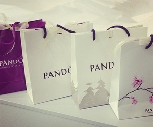 pandora, luxury, and shopping image