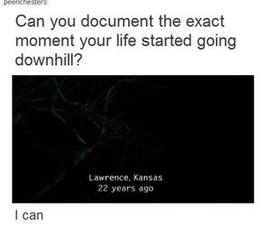 supernatural, fandom, and life image