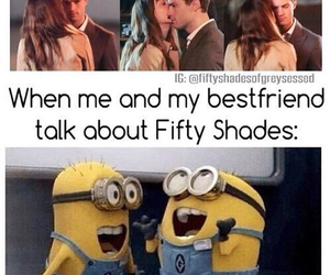 best friends, books, and minions image