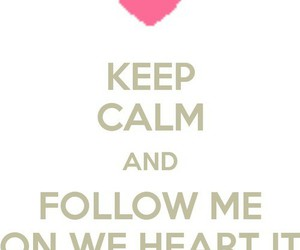 we heart it and follow me image
