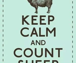 keep calm and sheep image