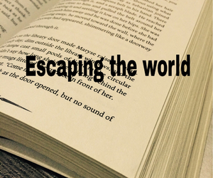 book, escape, and escaping image