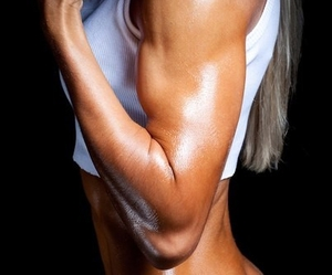 fitness, fit, and muscles image