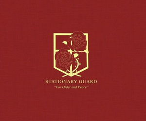 attack on titan, shingeki no kyojin, and stationary guard image
