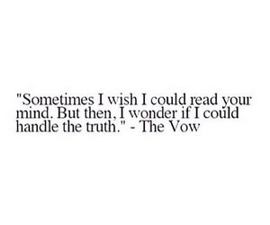 quotes, truth, and the vow image