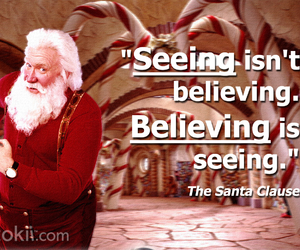 quote, movie, and the santa clause image