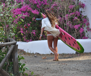 beach, free people, and surf image