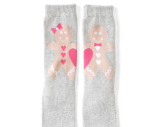 christmas, gingerbread man, and socks image