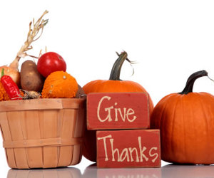 thanksgiving and give thanks image