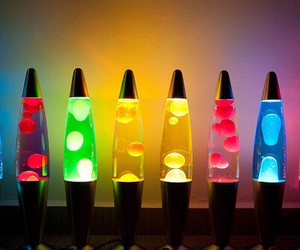 blue, color, and lava lamp image
