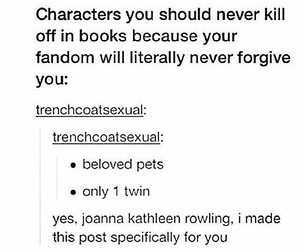 books, characters, and fandom image