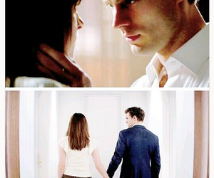couple, more, and fifty shades of grey image