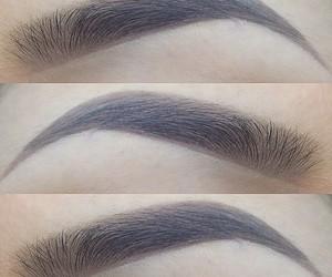 eyebrows, makeup, and brows image