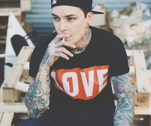 tattoo, band, and boy image